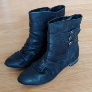 ALDO Black Short Boot | EU Size 39 / US 8